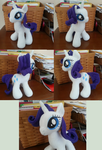 Rarity Plush by MintyStitch