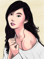 Testing no. 68 (Alodia Gosiengfiao colored) by CaIN02