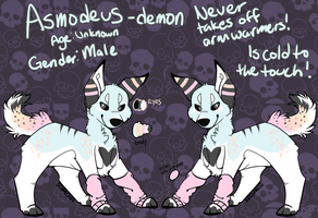 .:OC:. Asmodeus Reference by kass-the-kitten