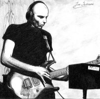 Joe Satriani by rzart