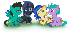 My Little Bronies by Saphire-Racer