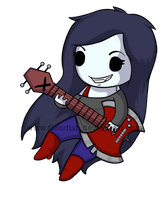 Chibi Marceline by Fi3ndish