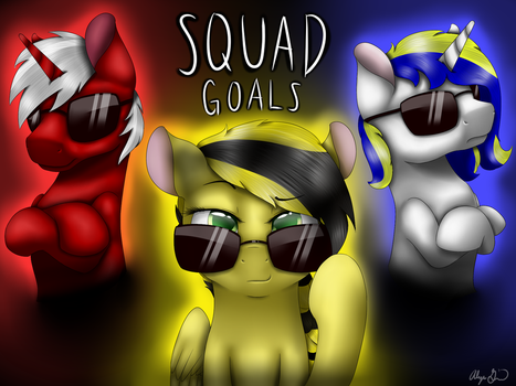 Squad Goals by gittykitty264