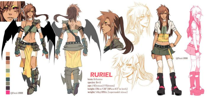 M2012: Ruriel Character Sheet by finni