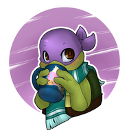 TMNT: Hot drink for cold winter by NamiAngel