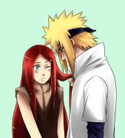 Minato and Kushina REDO by DrowningNemo