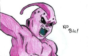 Kid Buu by MyEndOfHeartache