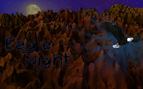 Eagle Night by wolforce