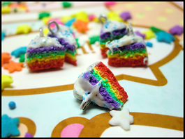 Rainbow Cake Gifts by GrandmaThunderpants