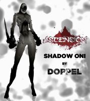 ASCENSION shadow oni by doppeL-zgz