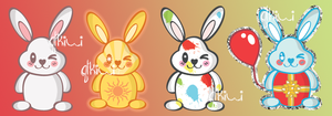 Four Bunnies by QTKiwi