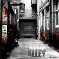 Hip-Hop Alley CD Cover by HipHopBoard