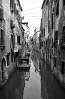 Calm Venetian River by MattEdson