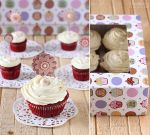 Red velvet cupcakes - packed by kupenska