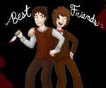 The bestest of friends by yayaroses101