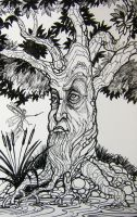 The Disenchanted Tree by HouseofChabrier