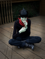 Muds Birthday Gorillaz Cosplay by Crimzun