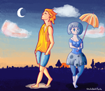 When the Sun Met the Moon by StudioGhibliRocks