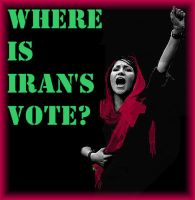 Where is Iran's Vote by DesertJewel
