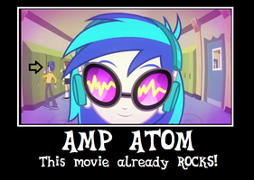 Amp?! You're early! Hurry back to rehearsal! by Author-Bat-Pegasus