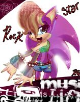 ::AT: Rockstar Material by amyrose777