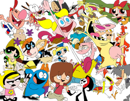 Cartoon Network Cartoons by Klashkrool