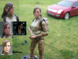 Retaliation Lady Jaye makeover WIP 2 by lovefistfury
