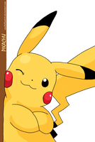 Pikachu by vanillafloat23