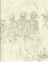 Band Of Brothers wip by samurai30