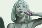 Maddie Ziegler (from Chandelier by Sia) by equillybrium