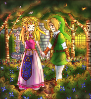 oot zelink point commission by tsaaif