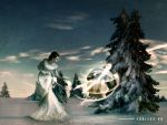Conjuring Endless Winter 09 WP by gaborcsigas