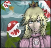 Princess Peach by kshah
