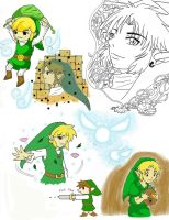 Link Sketches by FREAKY-female