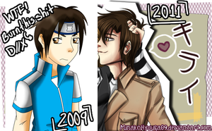 Sean - Before and After .-. by KaitouHyuuga