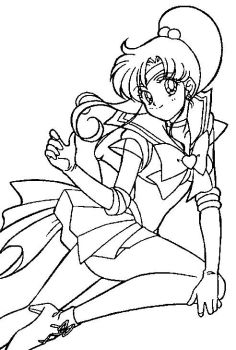 Sailor Moon Coloring Blanks HOSTED NOT BY ME by Sailortwilight on