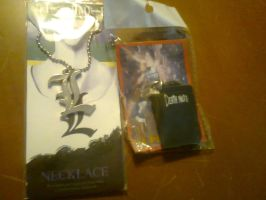 Collar And Keyring Of Death Note by ShadowRocker3000