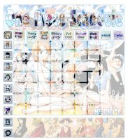 OnePiece Schedule by NakaAmi8393