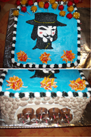 Guy Fawkes Cake by boogerscat1