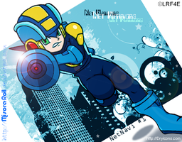 Rockman Exe Urban Net Warrior by Misora-Roll