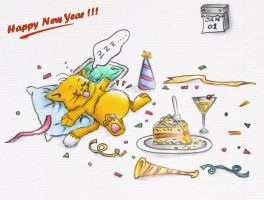 Happy New Year by tehKOTAK