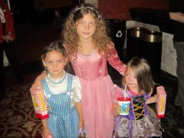 Three Little Girls as Wizard of Oz Characters by TheWizardofOzzy