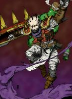 Singed The Mad Chemist by yarrik6