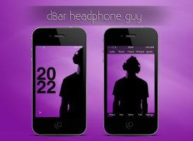 dBar headphone guy by Cophish