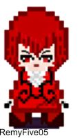 Madame Red pixel version by RemyFive