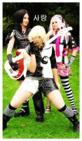 Team 7 as Visual Kei by NarutoCosplayClub