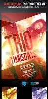 Trio Thursdays Flyer Template by ImperialFlyers