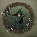 Magpie Witch by LiaSelina