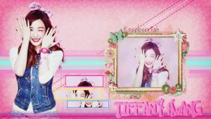 Tiffany Hwang Baby G Ver. 2 Wallpaper by raspberrishxiu