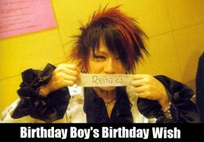 Ruki's Birthday Wish by blackdeadivy